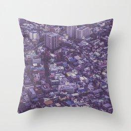 Tokyo sky view Japan Throw Pillow