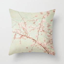 """Pink Rapture"" Throw Pillow"
