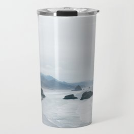Cannon Beach, OR. Travel Mug