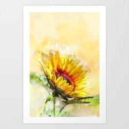 Blossom Sunny Art Print