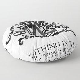 Assassin's Creed - Nothing is True Floor Pillow