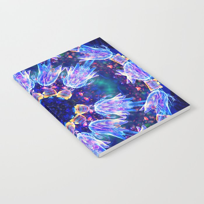Jellyfish Dance Mandala Notebook