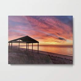 Sunrise at Billy Goat Flat, Pine Point Yorke Peninsula Metal Print