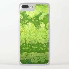 Watermelon texture Clear iPhone Case