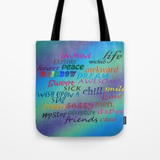 Sweet Awesome Chill Tote Bag
