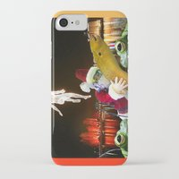 surrealism iPhone & iPod Cases featuring Christmas Surrealism by Ira Carter