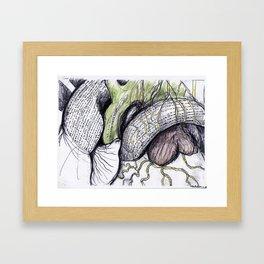Cerca de la felicidad Framed Art Print