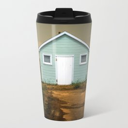 Old Beach Shack Travel Mug