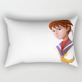 Sakura Portrait Rectangular Pillow