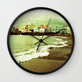 Black Sand Wall Clock