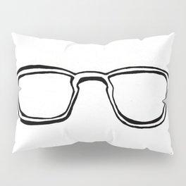 Four Eyes - B/W Pillow Sham