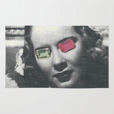 Psychedelic glasses II Rug