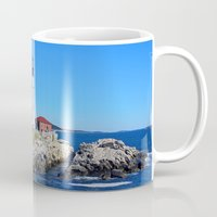 maine Mugs featuring Maine Icon by Exquisite Photography by Lanis Rossi