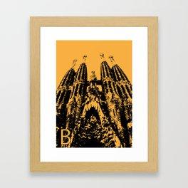 Barcellona B Framed Art Print