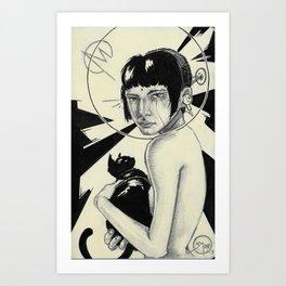 014 Cat 2 Art Print