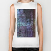 cracked Biker Tanks featuring cracked Earth by helsch photography