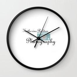 Katherine Roldan Photography logo Wall Clock