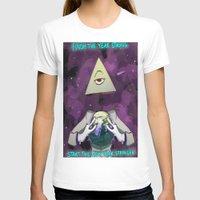 illuminati T-shirts featuring Illuminati  by Static-Thing