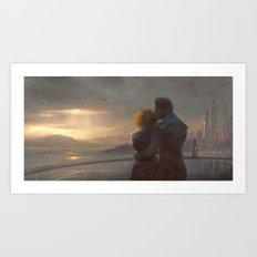 Mass Effect - English Bay Art Print