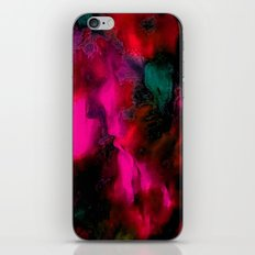 FACE IN THE DARK-ABSTRACT iPhone & iPod Skin