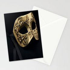 Behind The Mask Stationery Cards