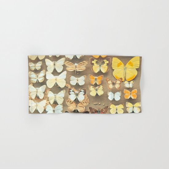 The Butterfly Collection I Hand & Bath Towel