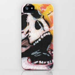 Gunga Skull 05 iPhone Case