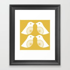 Lovey Dovey Framed Art Print