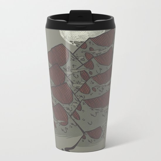 There's Chocolate in those Mountains Metal Travel Mug