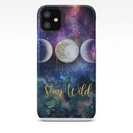 Celestial Ocean Moon Phases | Stay Wild iPhone Case