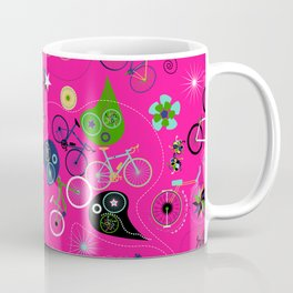 Cycledelic Pink Coffee Mug