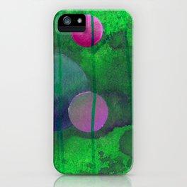 greenish sphere iPhone Case