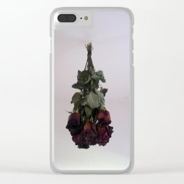 Hanging Roses Clear iPhone Case