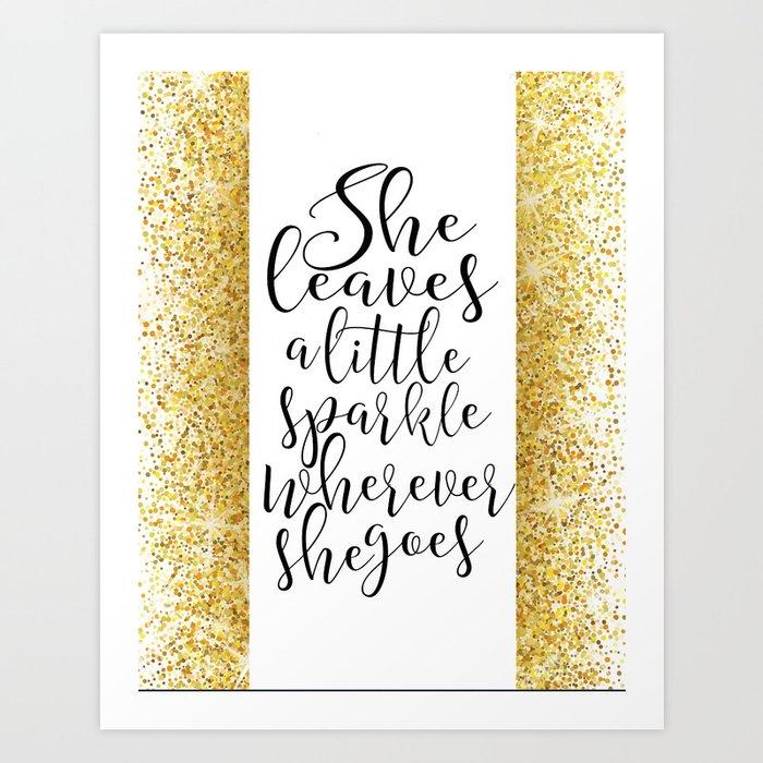 image regarding Printable Birthday Decorations called Nursery Artwork Gold Glitter Printable Child Woman Nursery Decor Wall Artwork Birthday Decorations Signal She Artwork Print through milos955