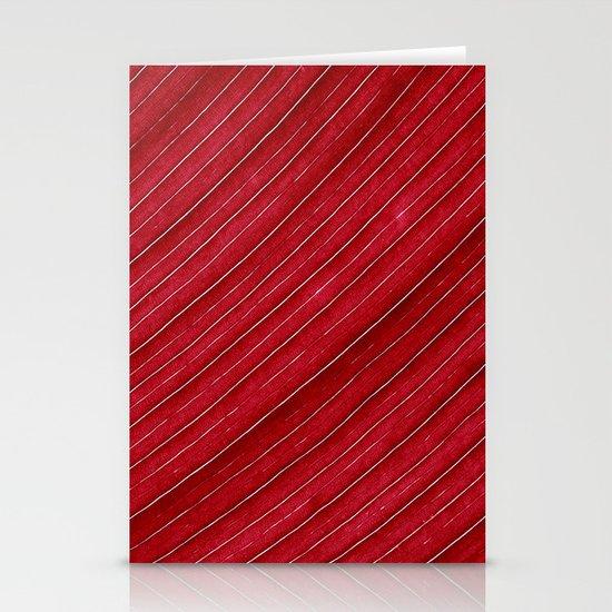 red leaf I Stationery Cards