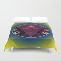wizard Duvet Covers featuring Wizard by Spooky Dooky