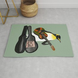 Penguin Busking Rug