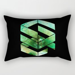 Abstract Space - version 2 - inverted Rectangular Pillow
