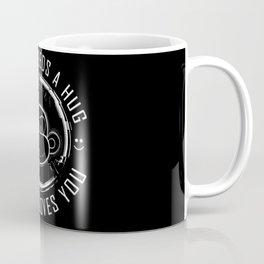 Black Mirror Monkey Coffee Mug