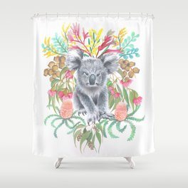 Home Among the Gum leaves Shower Curtain