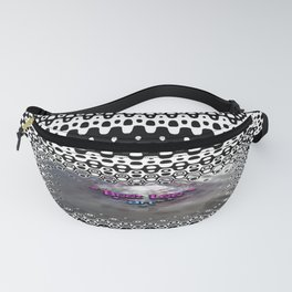 """""""Beez Lee Art : Foggy Square Point of View"""" Fanny Pack"""