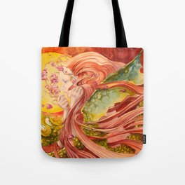 Once Upon a Dragon Tote Bag