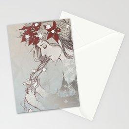 Christmas Lady II Stationery Cards