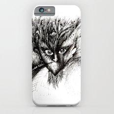 Owl Girl Eyes iPhone 6 Slim Case