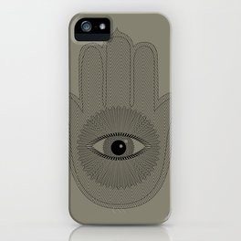 HAND PROTECTION iPhone Case