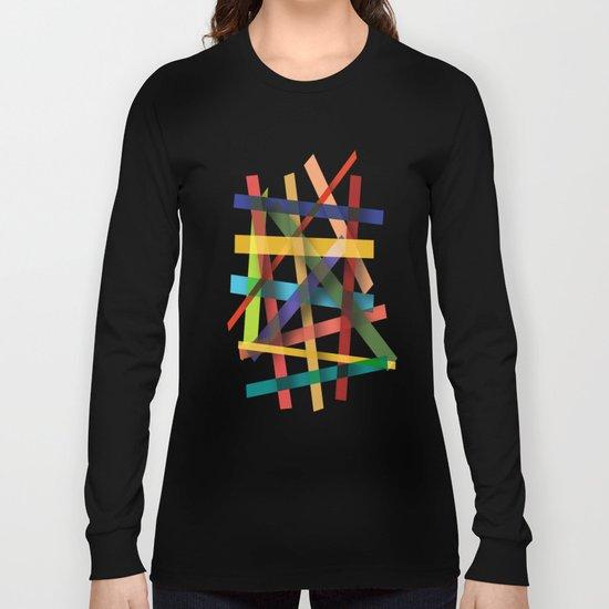 Abstract #436 Long Sleeve T-shirt