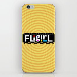 FLiGirl iPhone Skin