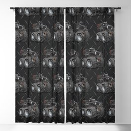 Off Road 4x4 Cartoon Blackout Curtain