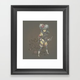 The Pirate Queen Framed Art Print