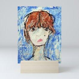 Self Portrait #1 Misslead Mini Art Print